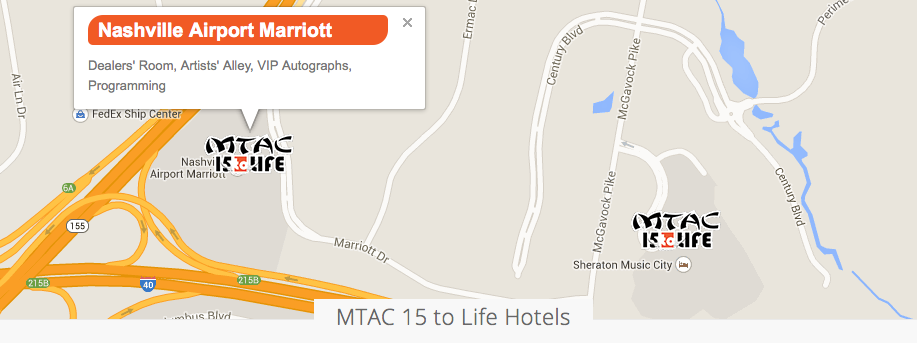 mtac hotel map screenshot