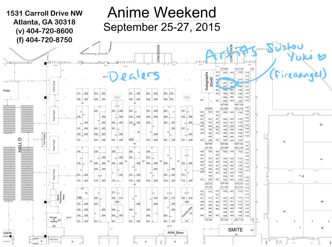 AWA AA Table Map