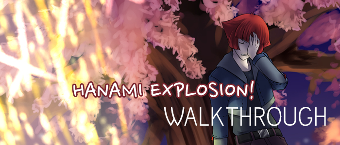 hanami explosion walkthrough